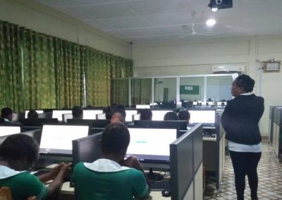 Holy Family Nursing and Midwifery Training College Computer Lab